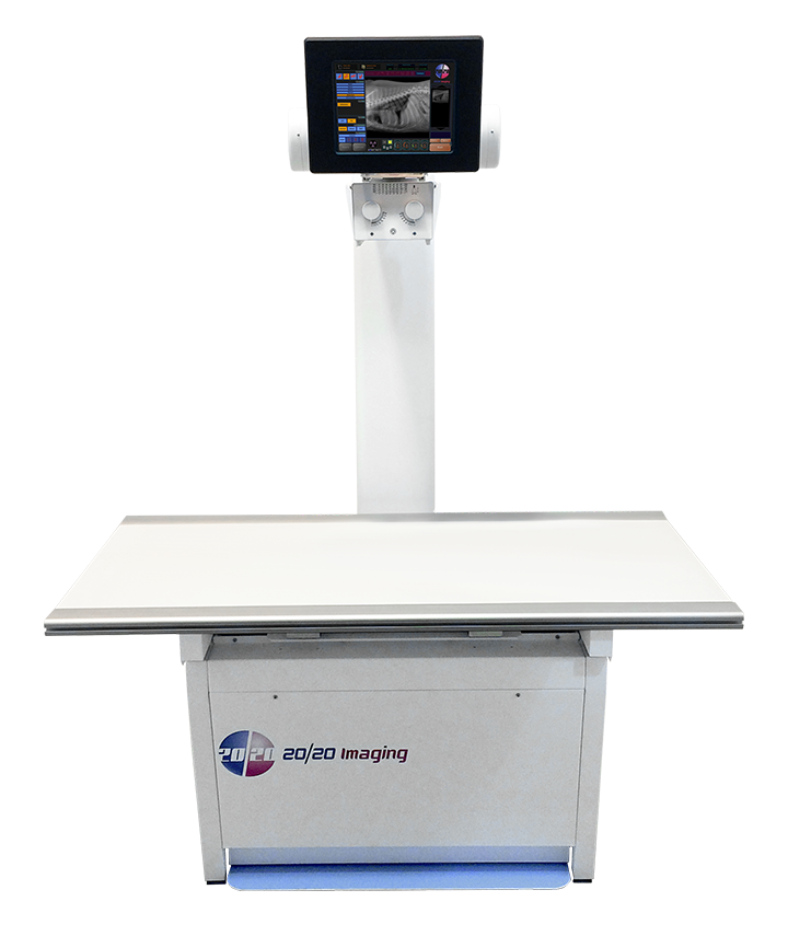 "20/20 Imaging VXR (Companion Animal) X-Ray System [""Floor-Mounted Suite""]"